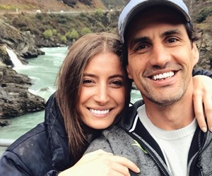 Did Andy Lee and girlfriend Rebecca Harding secretly get engaged?