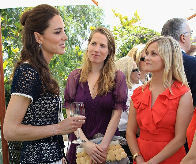 Reese Witherspoon raves about Duchess Catherine in her new book