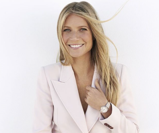 Gwyneth shares a rare snap of Apple for National Daughter Day
