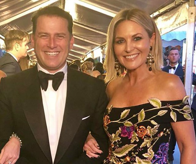 Karl Stefanovic and Georgie Gardner