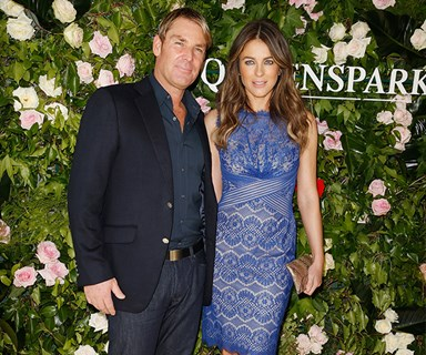 EXCLUSIVE: Shane Warne and Liz Hurley back together