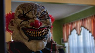 Real life: A killer clown was sent to bash me with a bat