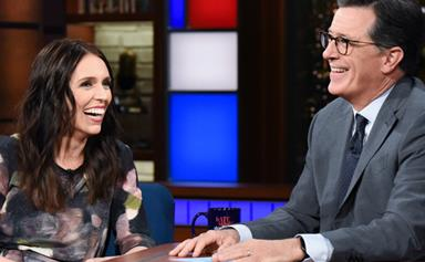 New Zealand Prime Minister Jacinda Ardern wears two pairs of Spanx for TV interview