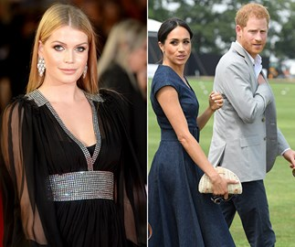 Lady Kitty Spencer's trip to Australia coincides with Harry and Meghan's, but they're here for very different reasons