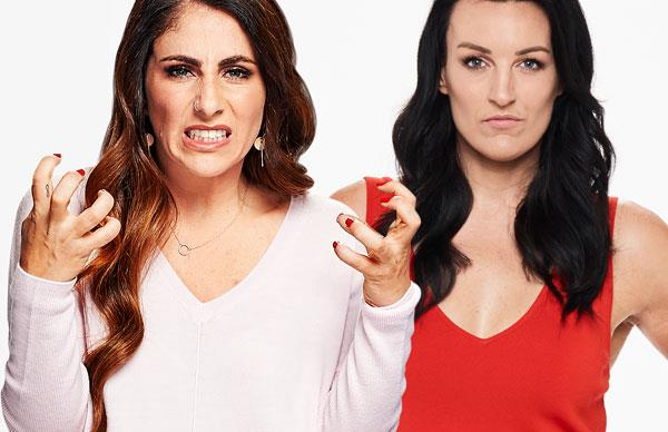 The Block's Sara and Bianca have a fiery showdown as auction day looms