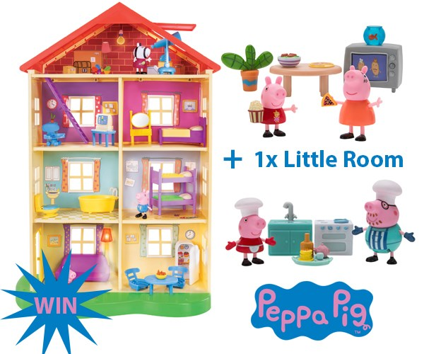 Win a Peppa Pig Prize Pack