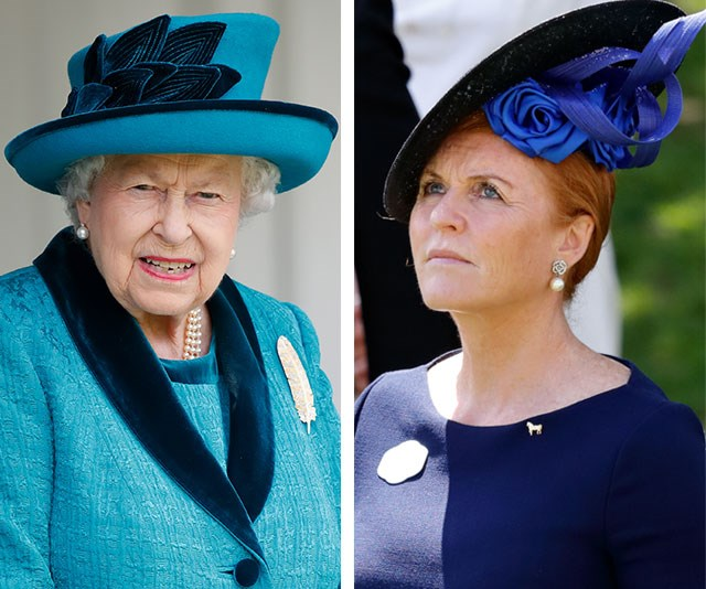 The Queen and Sarah Ferguson