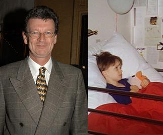 Red Symons opens up about his son Samuel's brain cancer diagnosis