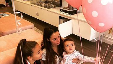 The Bachelor's Sam Wood and Snezana Markoski celebrate baby Willow's first birthday!
