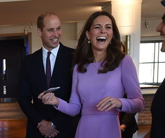 Prince William and Duchess Catherine share art fail at global summit