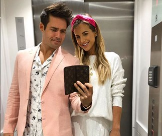 Spencer Matthews and Vogue Williams share first pictures of baby Theodore