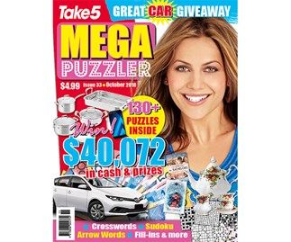 Mega Puzzler Issue 33 Coupon