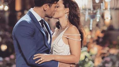 Their fairytale romance: Sam Wood and Snezana Markoski's love story in pictures