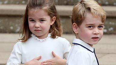 Prince George and Princess Charlotte's starring roles at Princess Eugenie's wedding