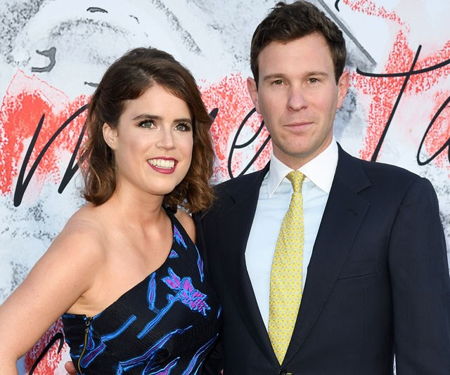 Princess Eugenie and Jack Brooksbank arrive at Windsor Castle for the wedding rehearsals