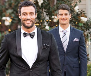 """The Bachelorette Australia's Charlie and Bill face-off: """"He's hiding something from Ali"""""""