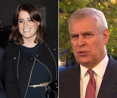 Prince Andrew is the ultimate proud dad at Princess Eugenie's royal wedding