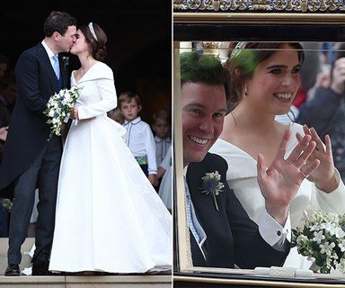 Princess Eugenie's royal wedding: All the best moments from the carriage procession