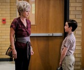Young Sheldon stars Iain Armitage and Annie Potts are quite the pair on and off-screen