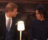 Did Meghan Markle and Prince Harry have a fight at the Royal Wedding?