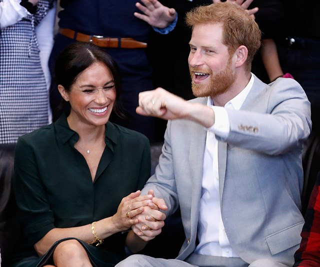 The surprising thing Prince Harry and Duchess Meghan did on their first day in Australia