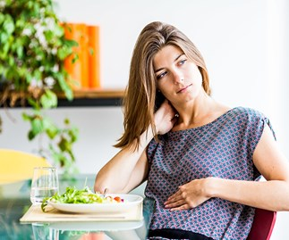 woman gut health problems