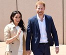 Prince Harry introduces Duchess Meghan to a very special person during their first royal walkabout
