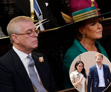 Sarah Ferguson and Prince Andrew ignore Prince Harry and Meghan Markle's Royal Baby news