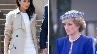 Duchess Meghan wears Princess Diana's jewellery on Royal tour Down Under