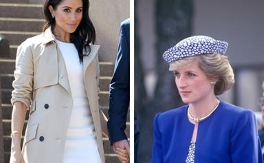 Duchess Meghan wears Princess Diana's jewellery on Royal tour Down Under