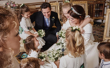 Princess Eugenie's touching thank you message for well-wishers after the royal wedding