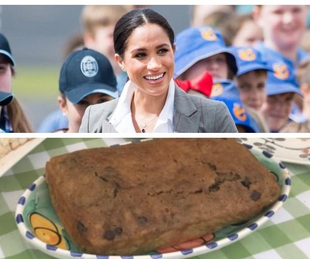 Duchess Meghan shows her sweet side by baking banana bread for drought-stricken farmers in Dubbo