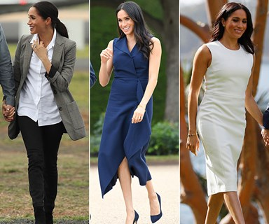 Duchess Meghan Markle's best maternity fashion moments from her Australian tour