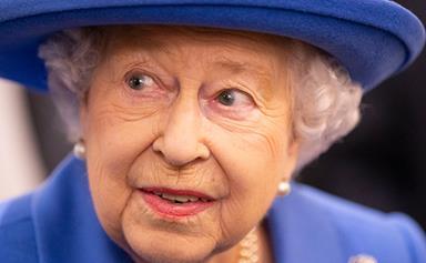 Queen Elizabeth II unveils brand-new portrait and it's literally breathtaking