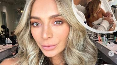 Nadia Bartel welcomes her second baby... and takes maternity ward glamour to the next level