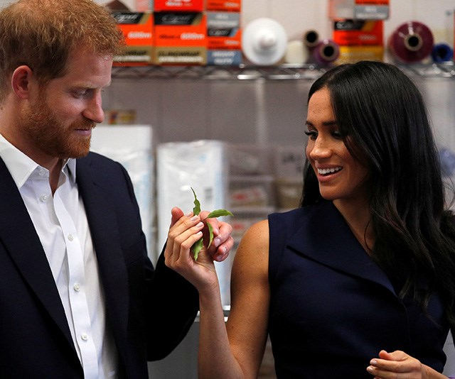 Prince Harry and Duchess Meghan get a taste of culture in Melbourne