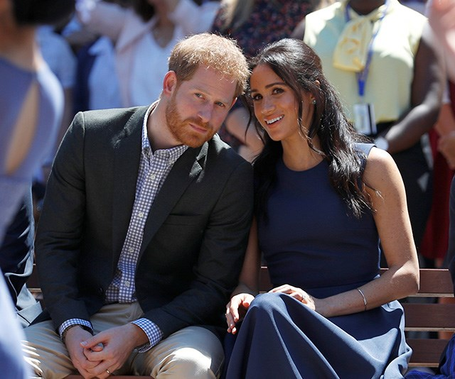 Inside Prince Harry and Duchess Meghan's secret school visit