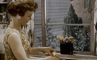 kitchen prep woman