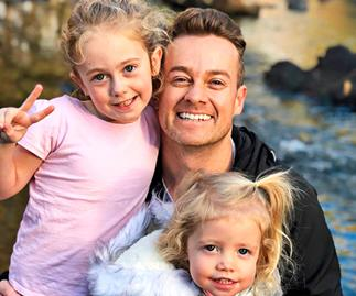 Grant Denyer reflects on his role as a father