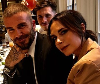 David Beckham gives candid interview about marriage as he and Victoria touch down in Australia