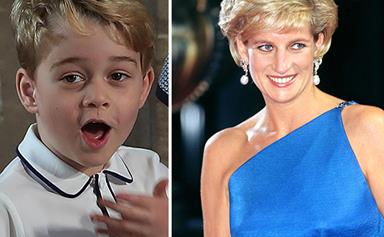 Prince William has revealed the sweet way Prince George takes after Princess Diana