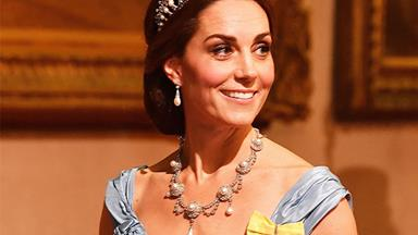 Duchess Catherine looked absolutely stunning in Princess Diana's tiara at her latest royal engagement