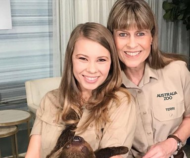 Terri Irwin says she'd be surprised if Bindi Irwin and Chandler Powell didn't get engaged