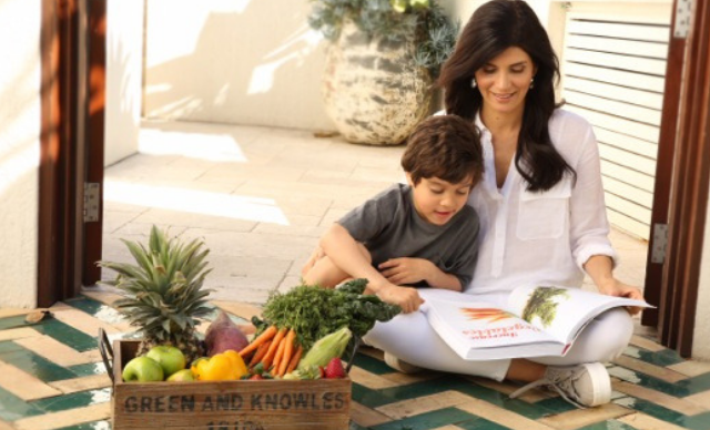 Modelling healthy eating habits for your kids