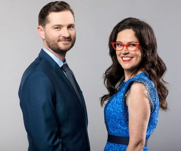 Charlie Pickering and Annabel Crabb run with made-up news stories in new show Tomorrow Tonight