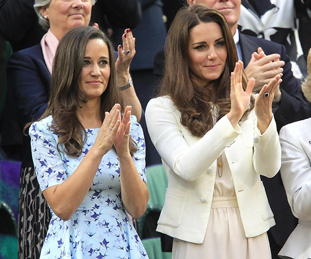 Duchess Catherine and Pippa Middleton through the years