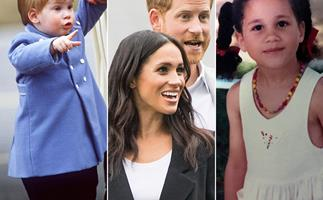 Here's what Meghan & Harry looked like as babies - so we can imagine exactly who Baby Lilibet will resemble the most