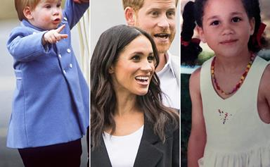 Royal baby album: Here's what Meghan and Harry looked like as babies