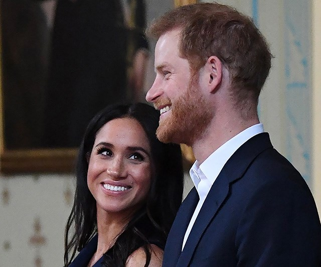 Duchess Meghan and Prince Harry had an adorable twinning moment that you probably missed