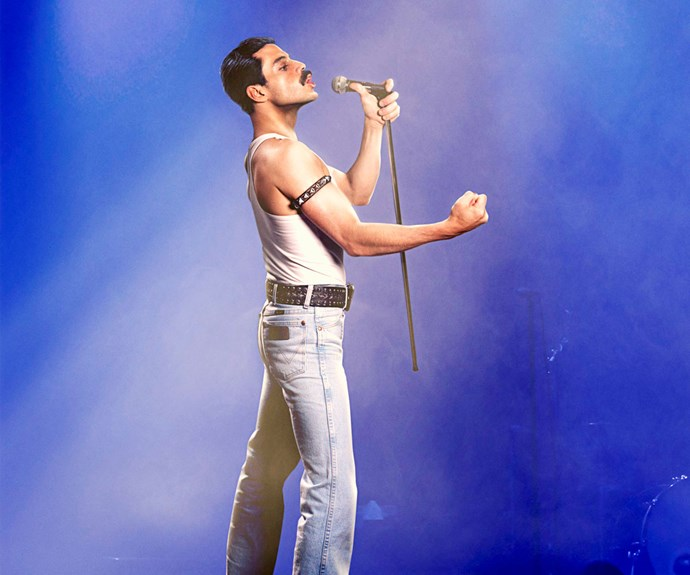 Rami Malek channels Queen frontman Freddie Mercury in a new Biopic
